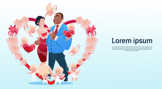 Valentinstag-geschenkkarte