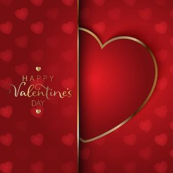 Valentinstag herz hintergrund