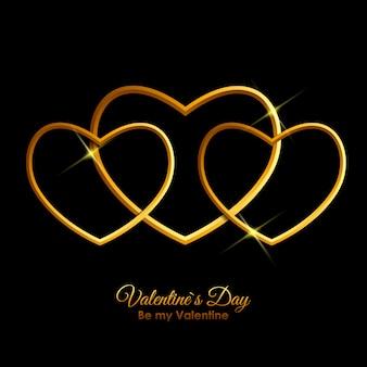 Valentinstag herz symbol. liebe und gefühle hintergrund desig