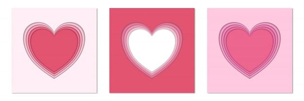 Valentinstag herz vorlage