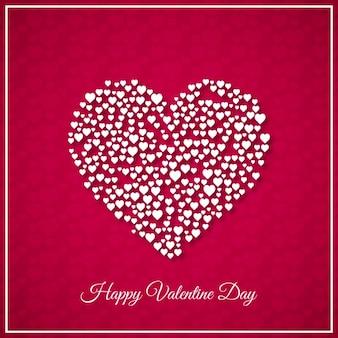 Valentinstag hintergrund-design