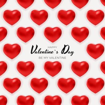 Valentinstag hintergrund design.
