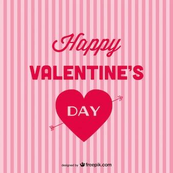 Valentinstag hintergrund vektor-kunst