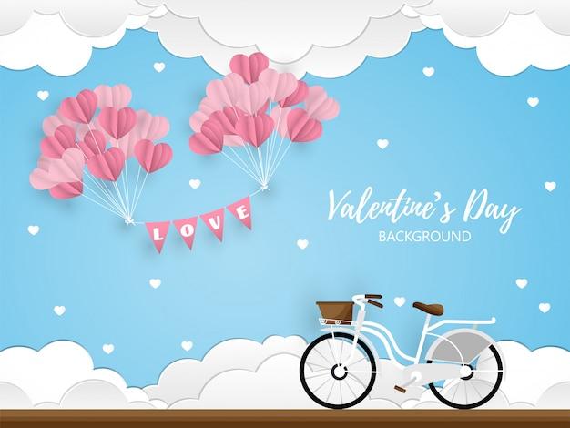 Valentinstag hintergrund.