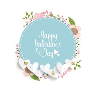 Valentinstag hintergrunddesign