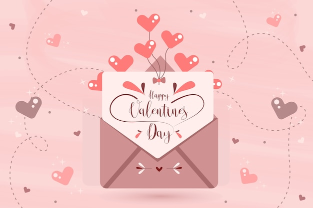 Valentinstag hintergrundkonzept