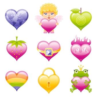 Valentinstag ikone.