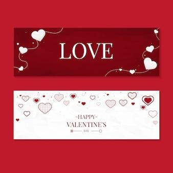 Valentinstag-ikonen-illustrationssammlung