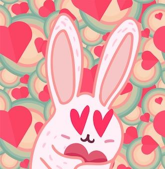 Valentinstag-illustration
