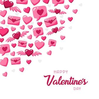 Valentinstag illustration