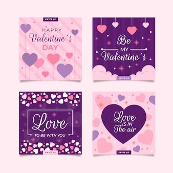 Valentinstag instagram beitragssammlung