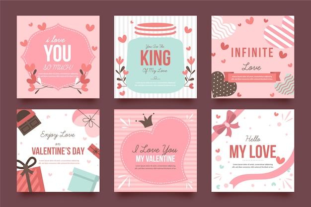 Valentinstag instagram beitragssatz