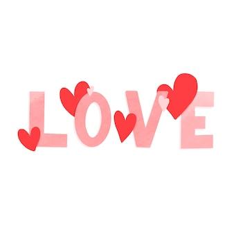 Valentinstag kartendesign