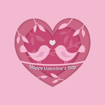 Valentinstag konzept