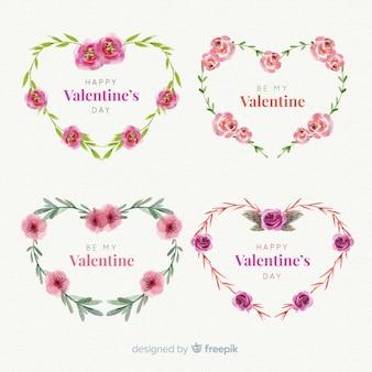 Valentinstag kranz pack
