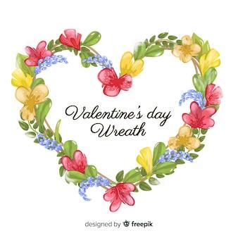Valentinstag kranz