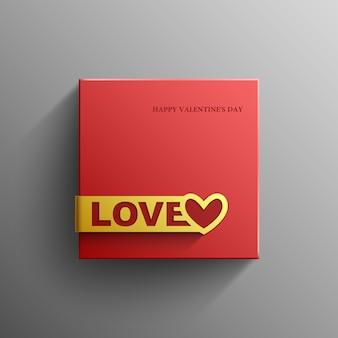 Valentinstag, liebe, banner