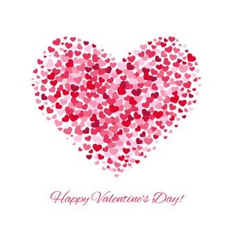 Valentinstag liebe vektor hintergrund