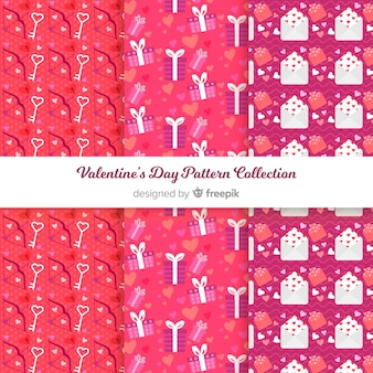 Valentinstag-mustersammlung