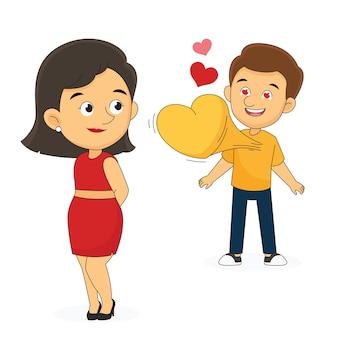 Valentinstag paar verbringen zeit zusammen