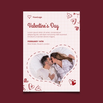 Valentinstag poster a4