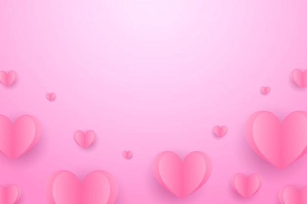 Valentinstag romantisches design
