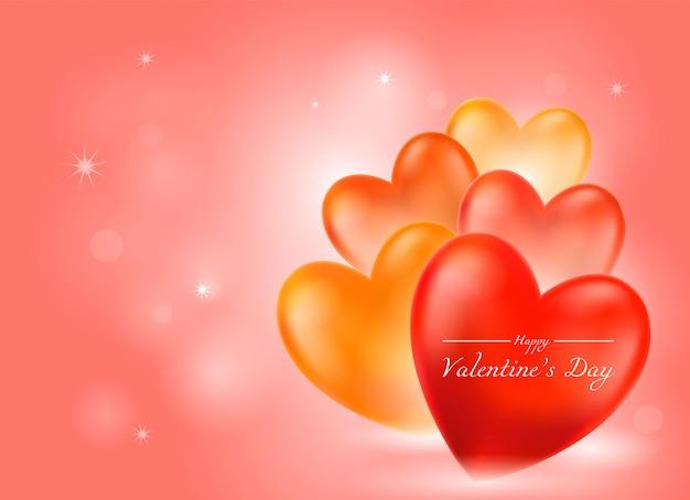 Valentinstag rosa hintergrund