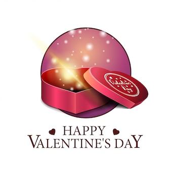 Valentinstag runde banner