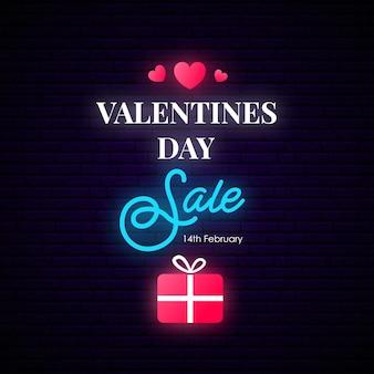 Valentinstag sale-banner