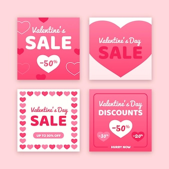 Valentinstag sale post pack