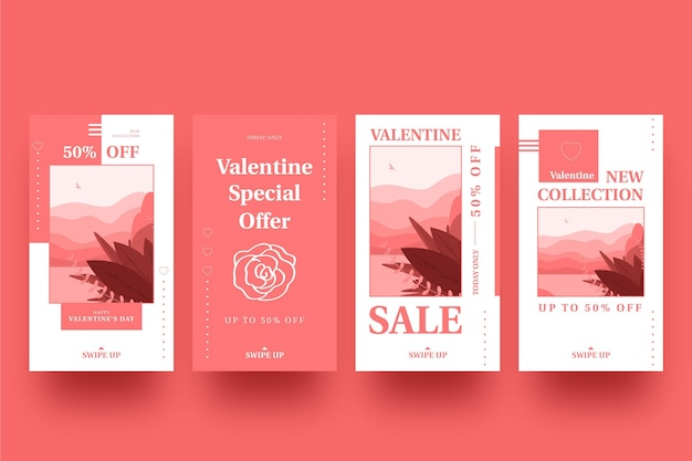 Valentinstag sale story pack