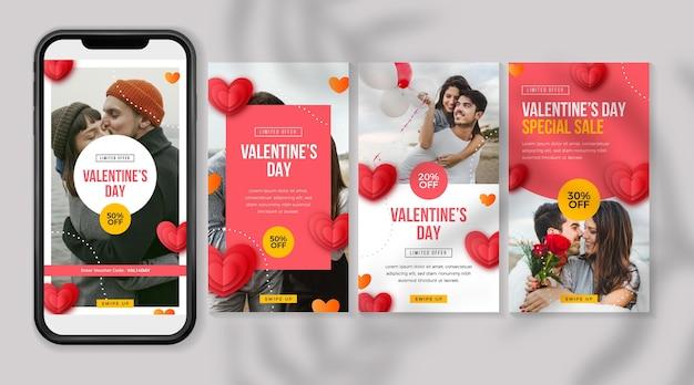 Valentinstag sale story sammlung