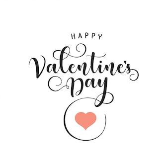 Valentinstag schriftzug hintergrund.