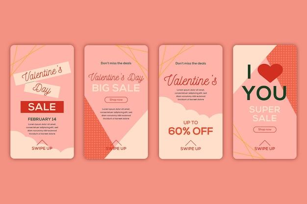 Valentinstag story pack
