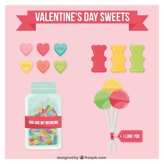 Valentinstag süßigkeiten