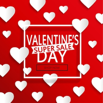 Valentinstag super sale.