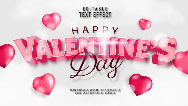 Valentinstag-texteffekt