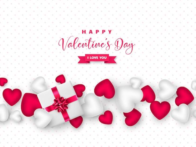 Valentinstag urlaub design.