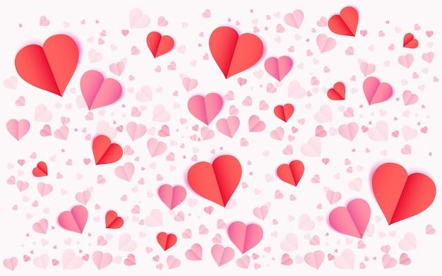 Valentinstag vektor hintergrund