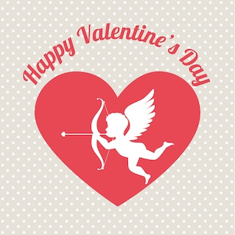 Valentinstag, vektor-illustration.
