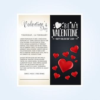 Valentinstag-vektor