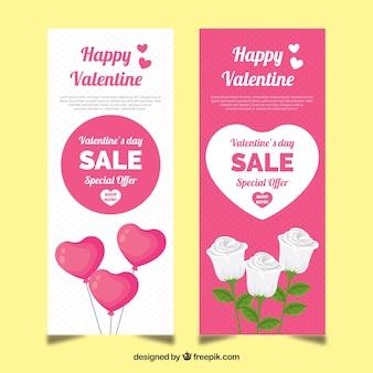 Valentinstag verkauf banner