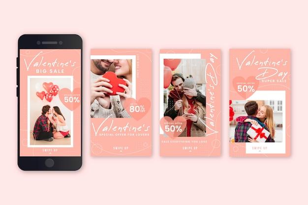 Valentinstag verkauf geschichte sammlung