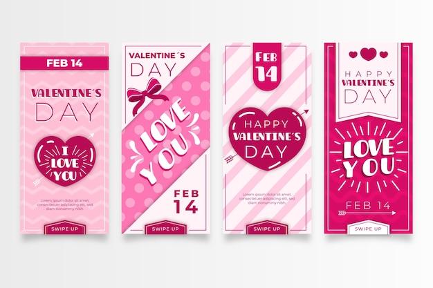 Valentinstag-verkaufsgeschichten