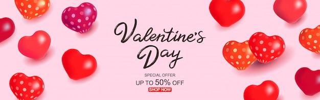 Valentinstag-verkaufsvorlage
