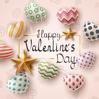 Valentinstag-vorlage