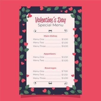 Valentinstagmenü