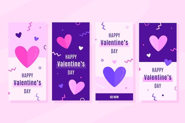 Valentinstagverkaufs-geschichtensammlung