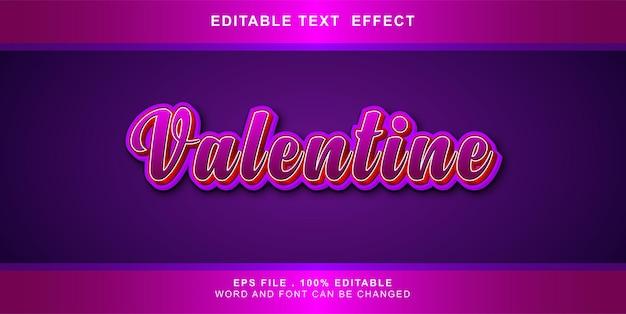 Valentinstext-effekt editierbar