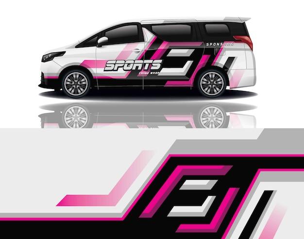 Van aufkleber wrap design